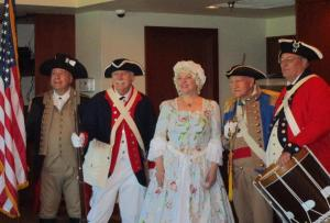 "<div style=""text-align:center"">George Washington's Birthday Luncheon</div>"