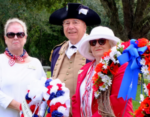 "<div style=""text-align:center""><strong>Veterans Day Ceremony, Ponte Vedra Valley Cemetery</strong></div>"